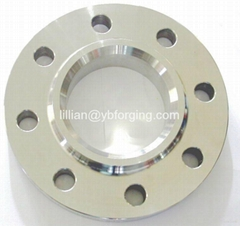 Large pipe flange