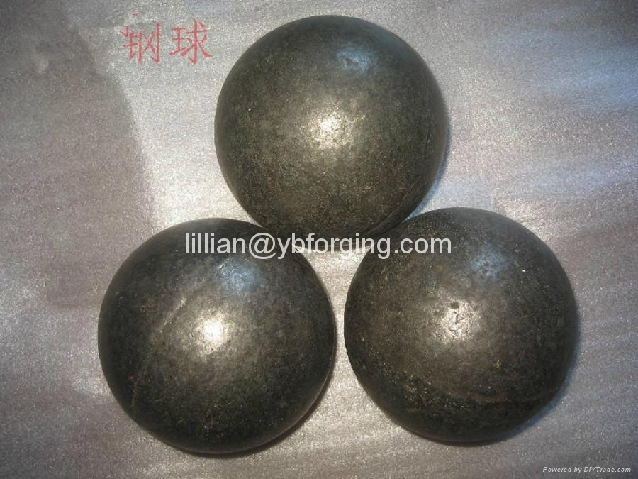 Hot Sale 80MM Forged Steel Grinding Ball For Ball Mill 1
