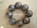 Hot Sale 80MM Forged Steel Grinding Ball For Ball Mill 2