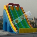 giant exciting custom inflatable slide