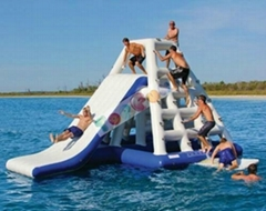 exciting customized inflatable water park slide