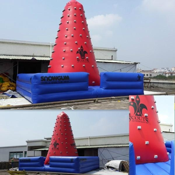 outdoor inflatable climbing tower sports 1
