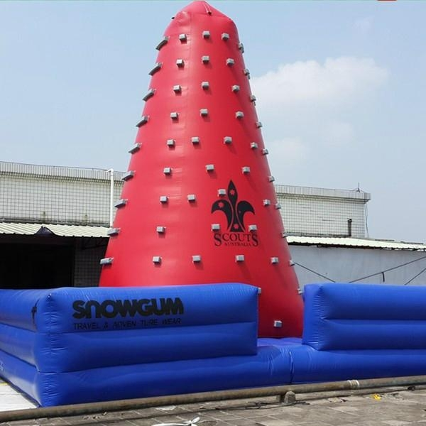 outdoor inflatable climbing tower sports 2