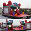 inflatable Christmas castle