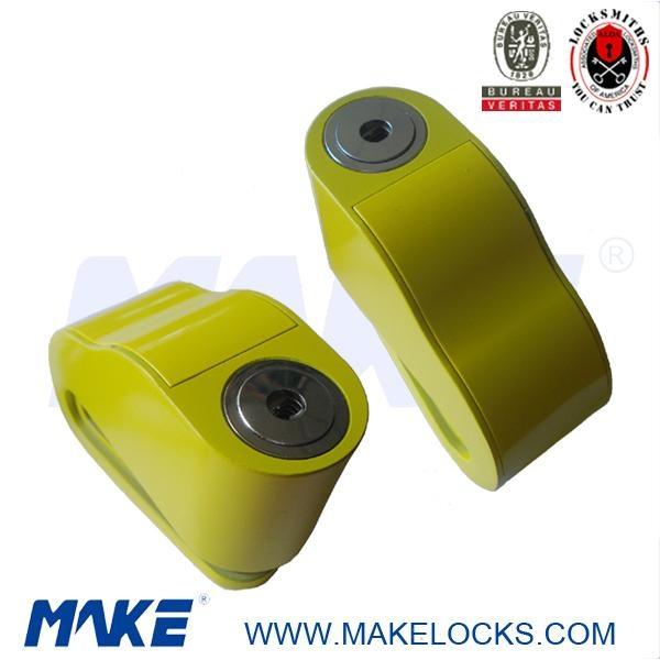 2013 new designed disc key motorcycle alarm lock 1