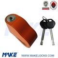 2013 new designed disc key motorcycle alarm lock 2