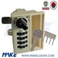 high security combination lock