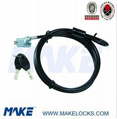 high security 1.8m cable laptop lock