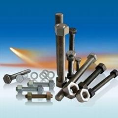 Titanium stud bolt hex bolt hex nut