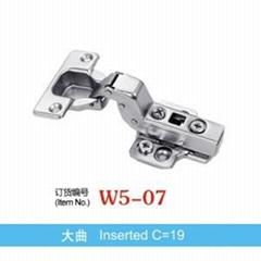 Concealed Hinge Inserted C=19