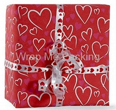 Valentines' day gift wrapping paper wholesale