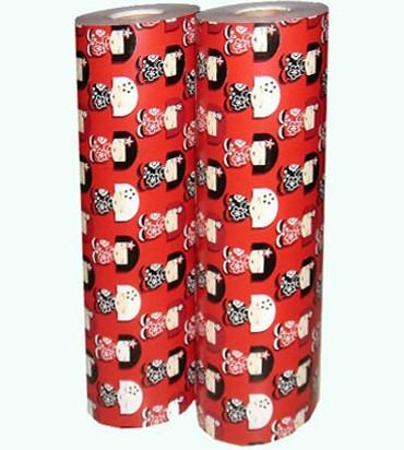Christmas printing gift wrapping paper roll 2