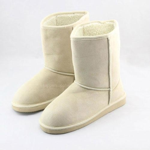 Ladies microsuede borgfleece EVA boots 1