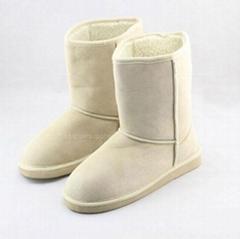 Ladies microsuede borgfleece EVA boots