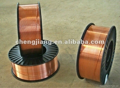 copper coated CO2 mig mag welding wire ER70S-6