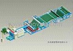 污水管道內襯PVC片材生產線