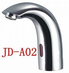 Brass automatic sensor faucet
