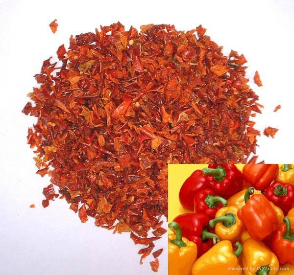 Drying Red Bell Pepper 1