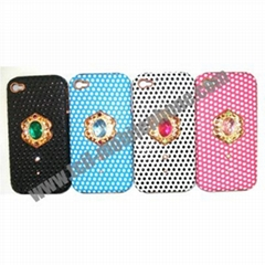 Diamond case for iphone and blackberry