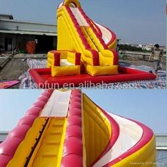 gaint customized amusement inflatable slide