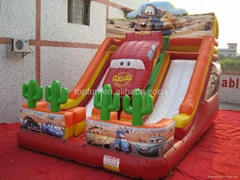 2013 newest colourful inflatable silde