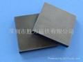 大規格鐵氧體方形圓形黑磁鐵