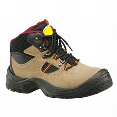 PU injection Safety Shoes with steel toe