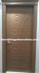 mdf pvc door with Turkey upper frame