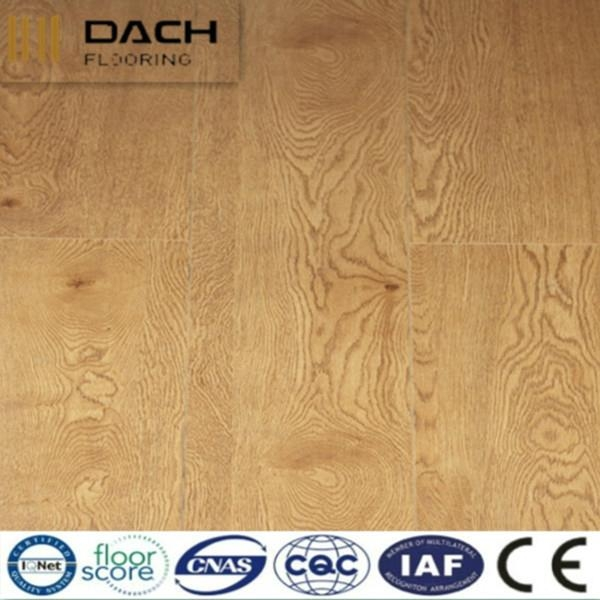 secure painted V-groove joint wooden floor 1