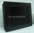 15 Inch Panel Mounting Industrial TFT LCD Display Monitor with Touch screen,IP65 1