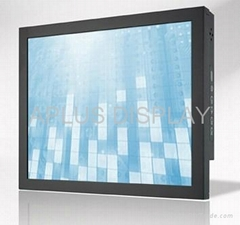 15'' Industrial Chassis LCD Monitor with Resistive touch screen panel