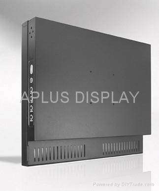 15'' Industrial Chassis LCD Monitor with Resistive touch screen panel 2