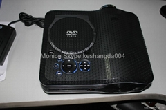 Low price DVD projector with battery option home theatre TV cinema beamer