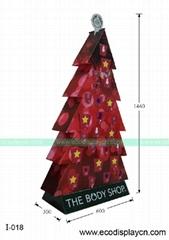瓦楞纸纸制彩色圣诞树