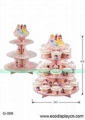 Custom 3 tiers Cake stands