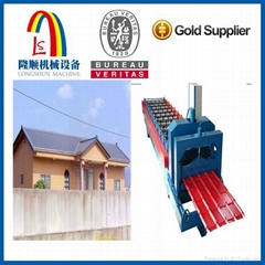 Automatic Glazed Tile Corrugated roof Sheet Making Machine