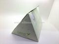 Ad tissue box-triangle tissue box