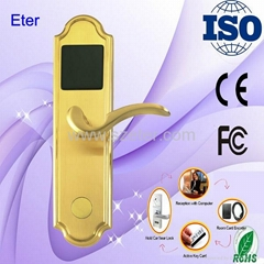 Eter RFID Mifare card hotel door handle locks