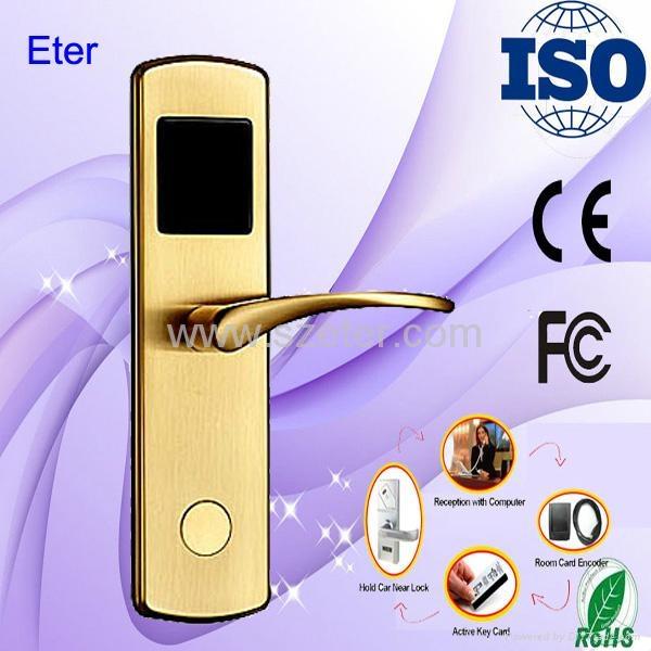 Eter RFID Mifare card vingcard hotel lock - Product Catalog - China -