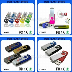Metal swivel usb stick wholesale