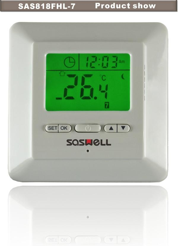 16a Programmable Underfloor Heating Room Thermostat