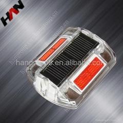 energy saving solar flashing warning light sign