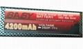 Hard Case Lipo packs for Cars 25C Hardcase lipo packs 2
