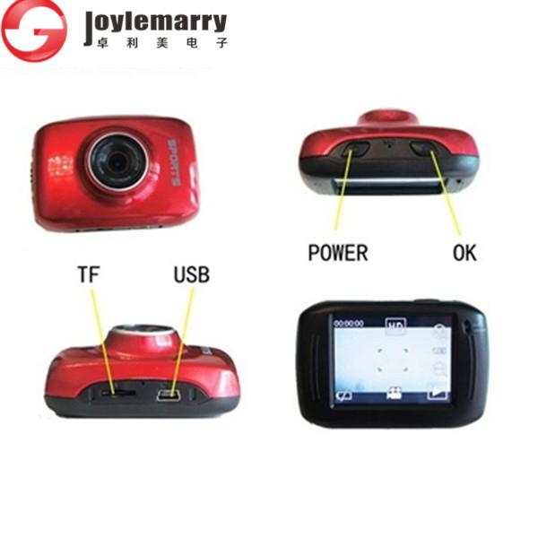 720p 2.0 Touch Sports action camera Extrem outdoor waterproof camera 3