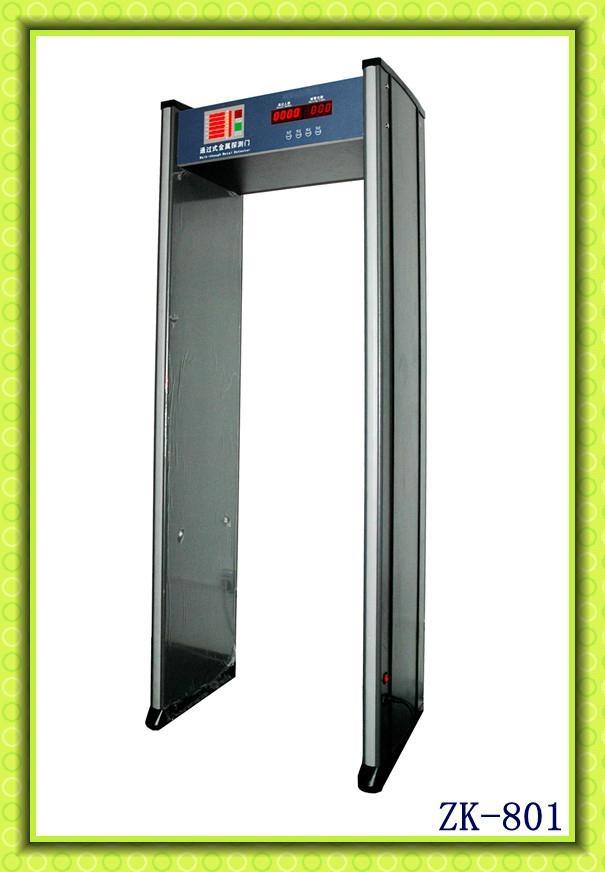 Walk through metal detector door 1