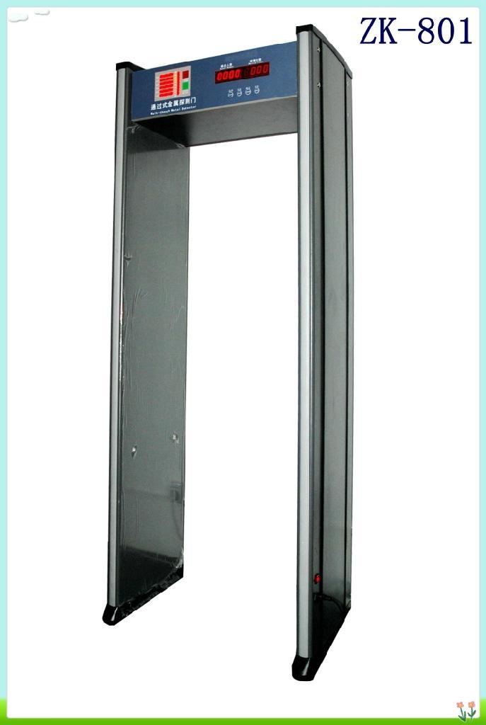 Walk through metal detector door 2