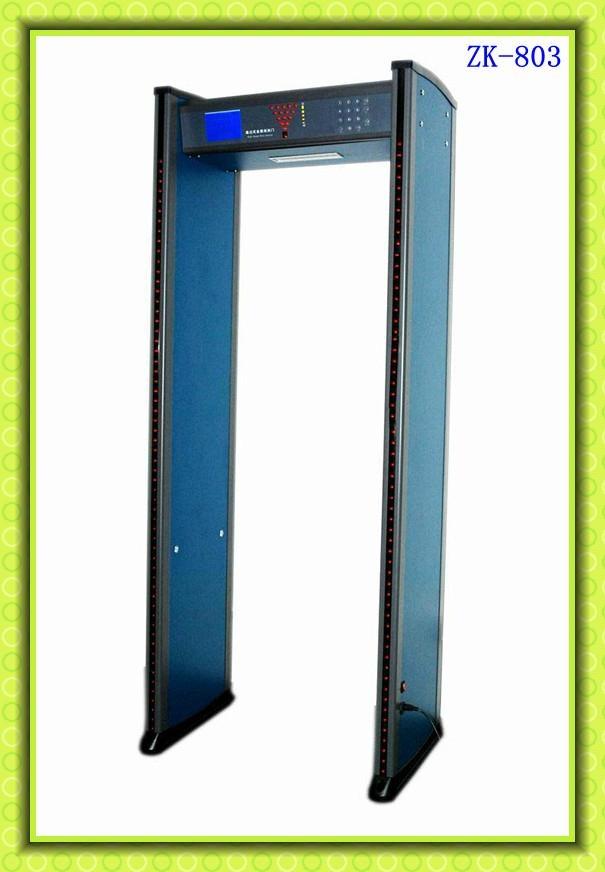 Walk through metal detector door 4