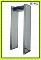 Waterproof Walkthrough metal detector gate 1