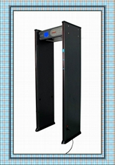 (6 Zones ) Walkthrough metal detector gate