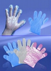 disposable HDPE glove